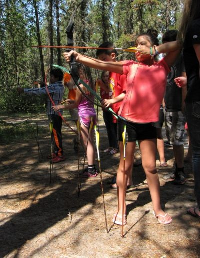 Bethel-Gospel-Camp-Archery-Kids-Camp