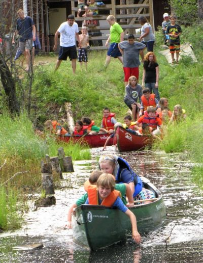 Bethel-Gospel-Camp-Canoeing-Kids-Camp