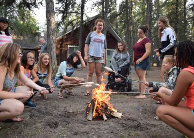 Bethel-Gospel-Camp-Saskatchewan-Girls-Fire