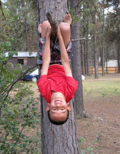 Kids Camp Bethel Gospel camp Hanging On Tree